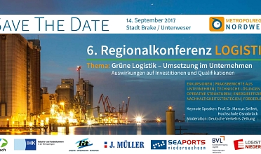 Save the Date Regionalkonferenz Logistik 2017